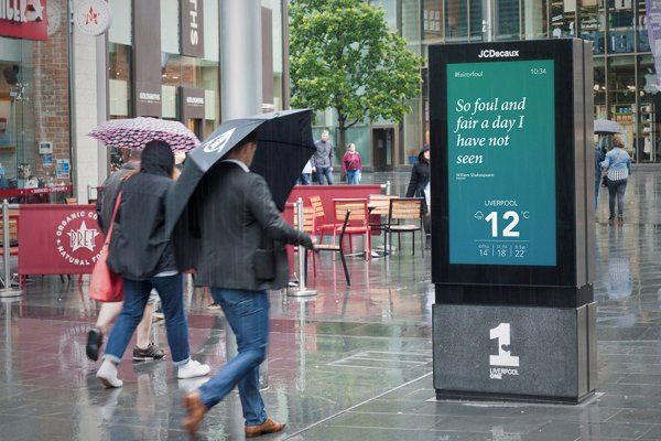 Out-of-home advertising that adapts to real life