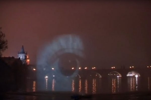 Vintage Pictures water projection
