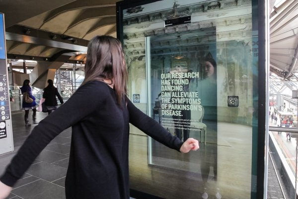 Motion activation campaign by Latrobe University in Australia