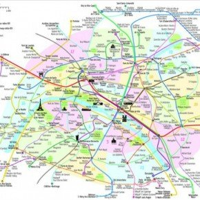 A New Open Source Paris Metro Map Jcdecaux Group