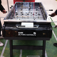 Connected Football Tables In French