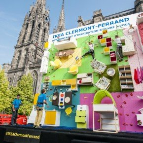 To Promote The Opening Of A New Store In Clermont Ferrand, France, Ikea  Collaborated With French Communication Agency Ubi Bene To Create A Unique,  ...