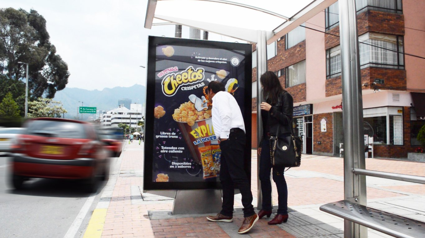 Best Creative Campaigns In March Scented Bus Shelters