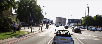 Disruptive Tech in Auto: Mini Not Normal Dynamic Content OOH campaign, reactive billboard, JCDecaux UK