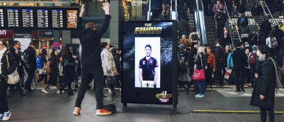 AFL exclusive live streaming campaign in Sydney, Australia for fans to meet players