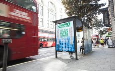 Sustainable OOH: The body shop and Airlabs bus shelter cleans London's air, JCDecaux UK