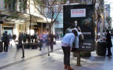 Cancer Institute NSW, See the effects of lunger cancer, JCDecaux Australia interactive campaign