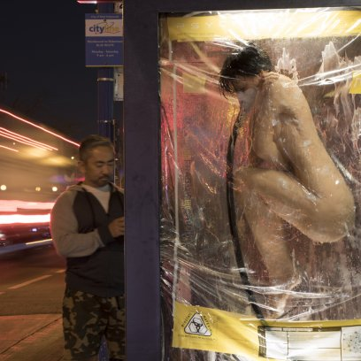 Netflix Altered Carbon campaign, JCDecaux USA, 2018-01